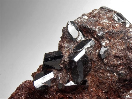 Rutile Crystals from the Graves Mountain Mine
