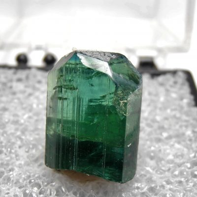 Tourmaline - Indicolite Crystal from Virgem da Lapa