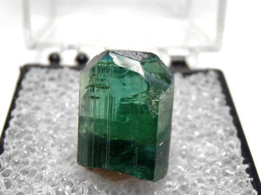 Tourmaline - Indicolite Crystal from Virgem da Lapa