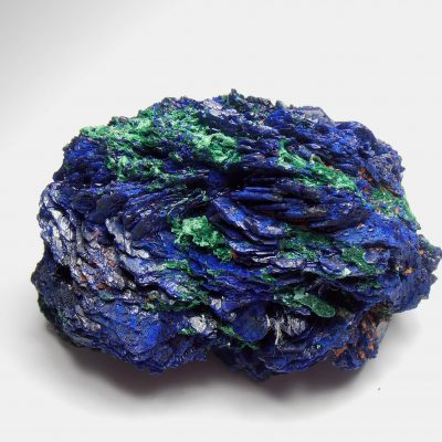 Azurite Crystal Rosette from the Huangshi Prefecture, Hubei