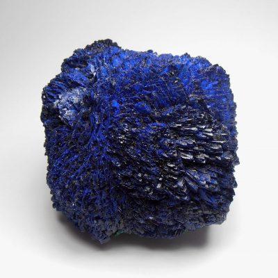 Azurite Rosette from the Tongshankou Copper Mine