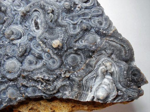 Chalcedony and Quartzine Stalagmite Plate (8 1/2 inches)