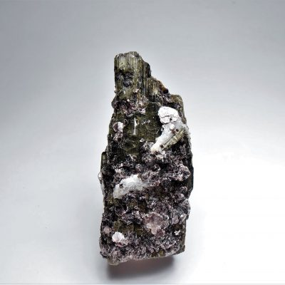 Tourmaline with Lepidolite from Minas Gerais