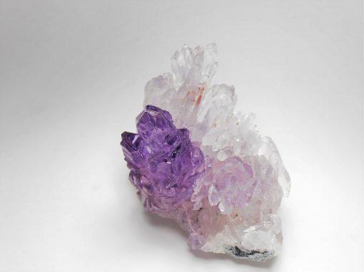 """Amethyst Flower"" - Violet Crystals from Irai"