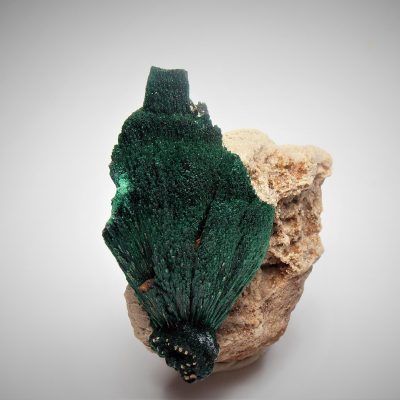 Malachite - Chatoyant Crystal Fans from Kerrochene
