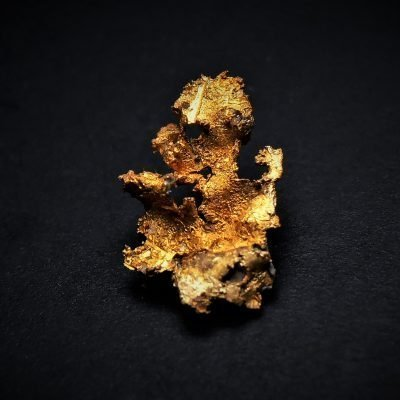 Gold from the Ibex Mine - 10 mm tall