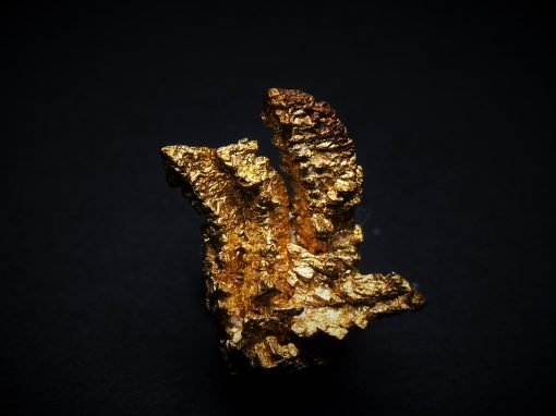Gold Crystals from the Round Mountain Mine