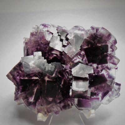 Fluorite - Exceptional Cranberry/Purple Piece- Okorusu Mine