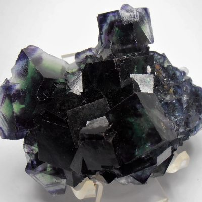 Fluorite - Emerald and Purple - Okorusu Mine