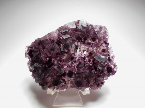Fluorite - Purple Phantoms- Okorusu Mine