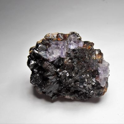 Fluorites on Sphalerites from the Elmwood Mine, Tennessee