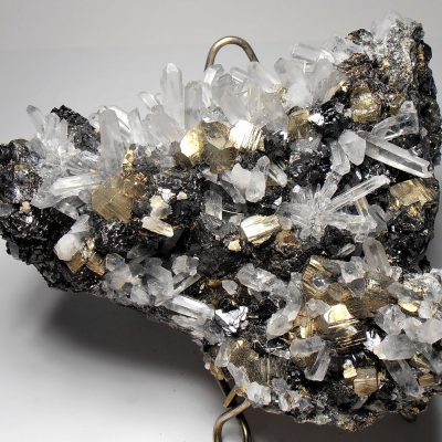Sulfide & Quartz Crystal Mix - Huaron Ming District