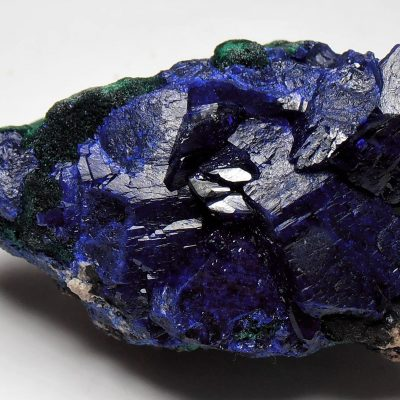 Azurite Crystal Plate from the Milpillas Mine