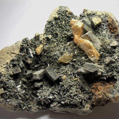 Uralite from the Calumet Mine, Colorado