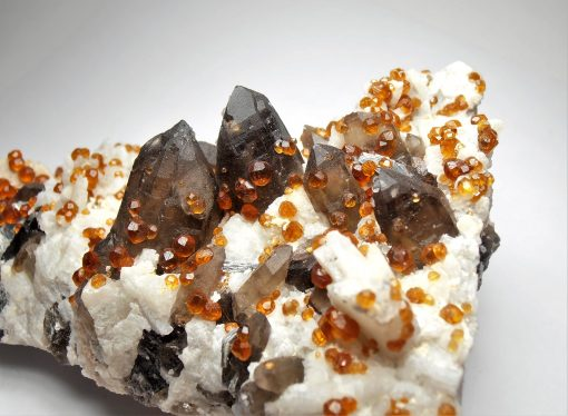 Spessartine - Gem Garnet Crystals from the Fujian Province