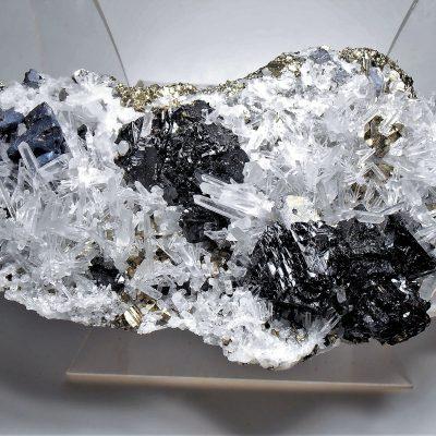 Sulfide & Quartz Crystal Mix - Huaron Ming District