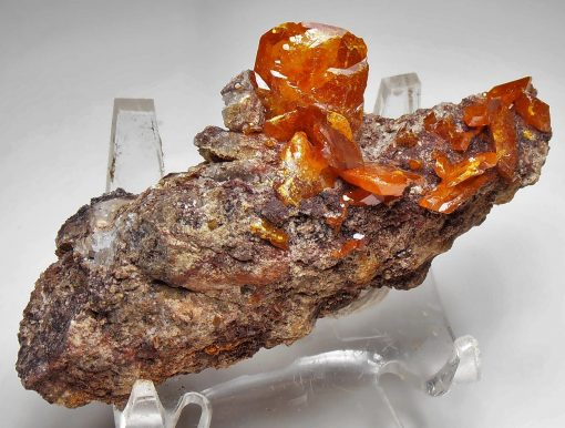 Wulfenite from the Red Cloud Mine, La Paz County
