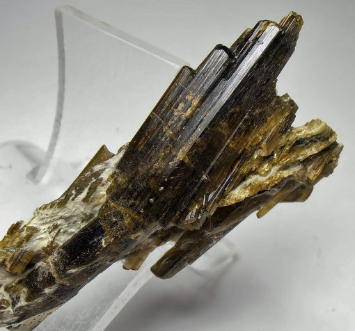 Epidote - Parallel Growth Crystals from the Tormig Valley