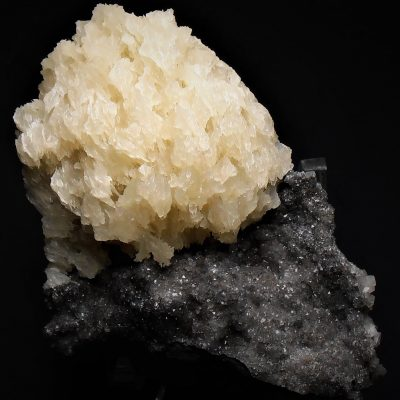 "Barite - ""Snowball"" from the Elmwood Mine"