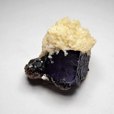 Fluorite with Barite, Sphalerite - Elmwood Mine