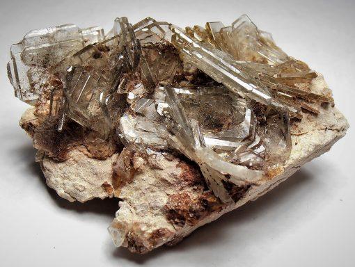 Barite - Window Pane Crystals from Cerro Warihuyn