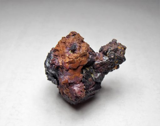 Copper Pseudomorphing Cuprite Crystal Cluster from Rudnyi Altai