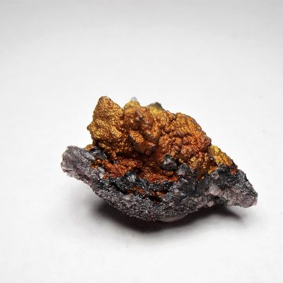 Hematite on Quartz From the Graves Mountain Mine