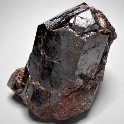 Rutile - Huge 3 Inch Crystal from the Graves Mountain Mine