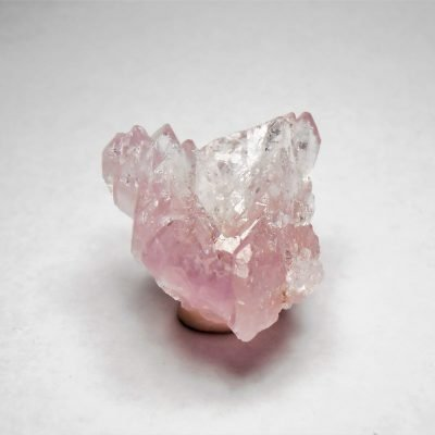 Rose Quartz Crystal Clusters from Lavra da Ilha, Taquaral