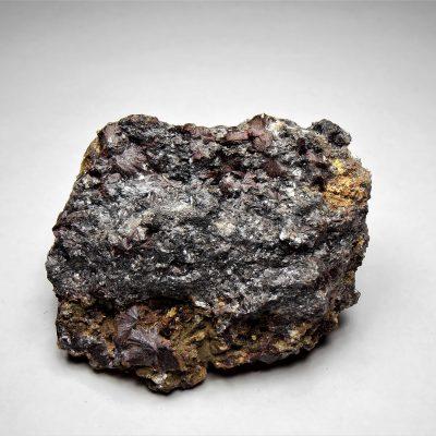 Antimony with Kermesite - Lac Nicolet Antimony Mine