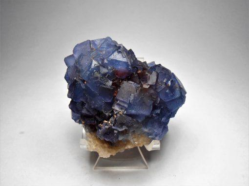Fluorite - Outstanding Blue Fluorite from the Blanchard