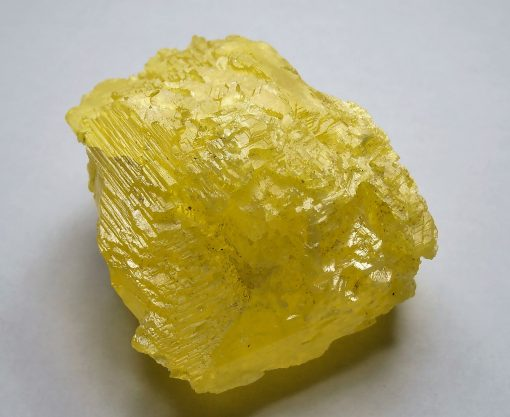 Sulfur Crystal From the Maybee Quarry, Michigan