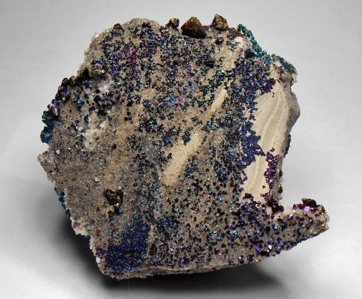 Chalcopyrite - Iridescent Crystals from the Sweetwater Mine