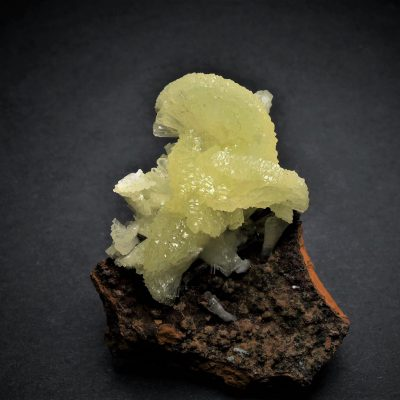 Adamite - Acicular Crystal Fans from the Ojuela Mine
