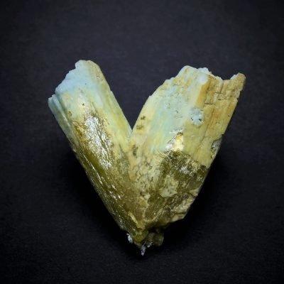 Plumbogummite after Pyromorphite - Yangshou Mine