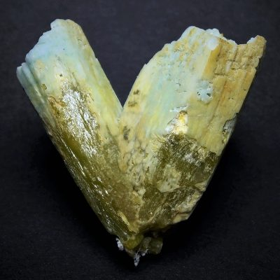 Plumbogummite after Pyromorphite - Yangshou Mine