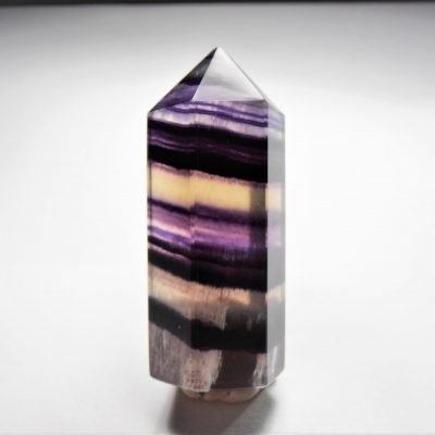Fluorite Crystal Point from Hunan, China