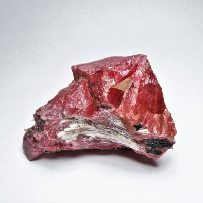 Rhodonite - Crystalline Vein Section from Minas Gerais
