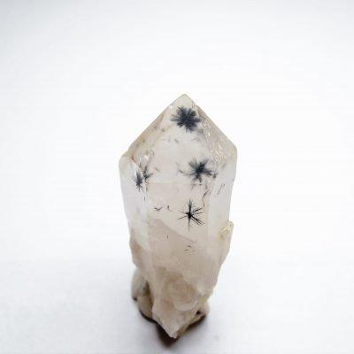 Hollandite in Quartz - Outstanding Display from Anketsaketsa