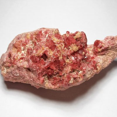 Rhodonite Crystals from the Taguchi Mine in Japan