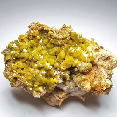 Pyromorphite Crystals from the Doaping Mine, Guilan Prefecture