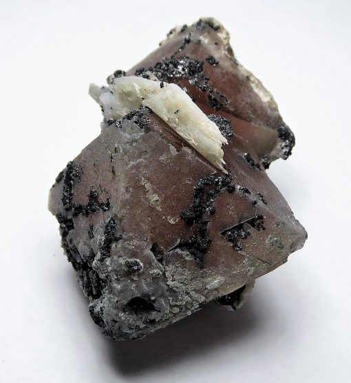 Fluorite - Pink Octahedral Crystals from Inner Mongolia