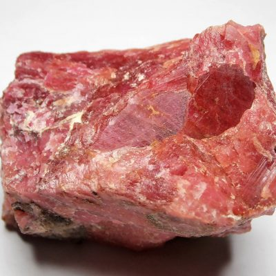 Rhodonite - Crystalline Vein Section from Minas Gerais