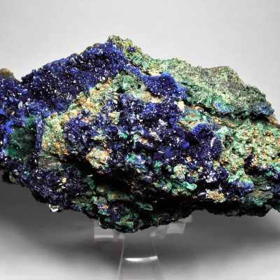 Azurite on Malachite - Large Matrix Piece from Anhui