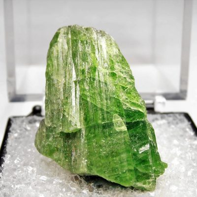 Tremolite Crystal - Chrome Rich Variety from the Merelani Hills