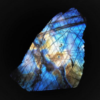 Labradorite - Freestanding Piece with Stunning Iridescence