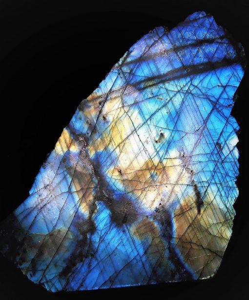 Labradorite - Freestanding Piece with Stunning Iridescence