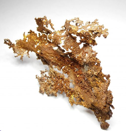 Copper - Arborescent Crystal formation from the Urals Region