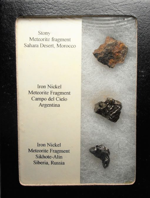 Meteorite - Assorted Three Piece Collection #32