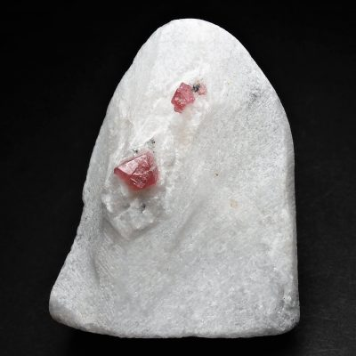 Spinel Crystals in Marble from Vietnam